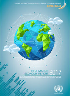 Cover of Information Economy Report 2017