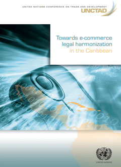 Cover of Towards e-commerce legal harmonization in the Caribbean