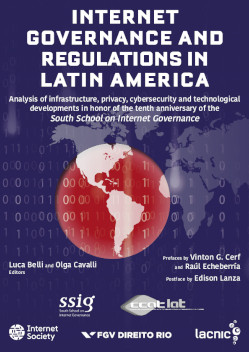 Portada de Internet Governance and Regulations in Latin America