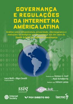 Portada de Governança e Regulações da Internet na América Latina